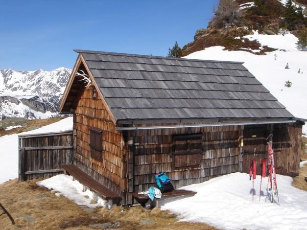 Foto: Manfred Karl / Ski Tour / Schwarzeck, Fuchskar / Jagdhütte beim Roßkogel / 15.02.2009 14:09:16