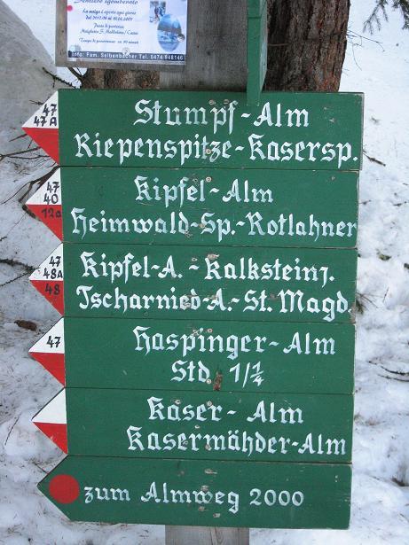 Foto: Andreas Koller / Ski Tour / Rotlahner (2748m) - Paradetour im Gsiesertal  / 16.02.2009 01:07:08