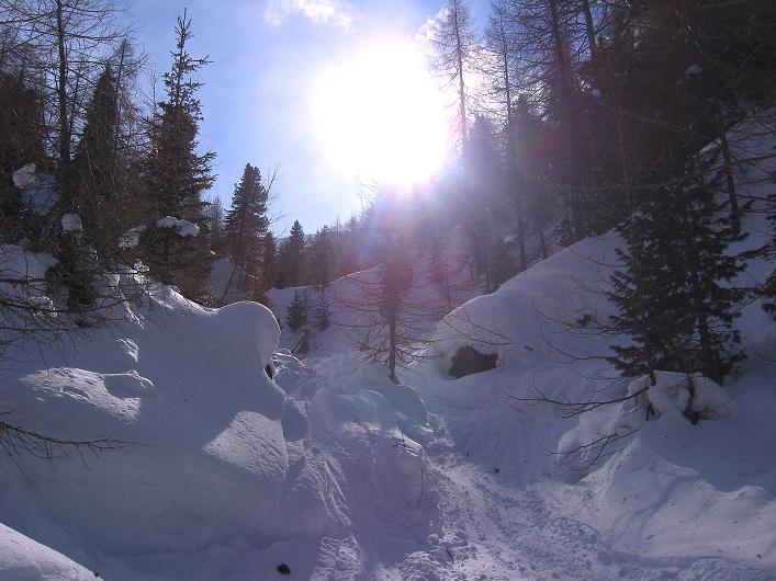 Foto: Andreas Koller / Ski Tour / Rotlahner (2748m) - Paradetour im Gsiesertal  / 16.02.2009 01:05:26