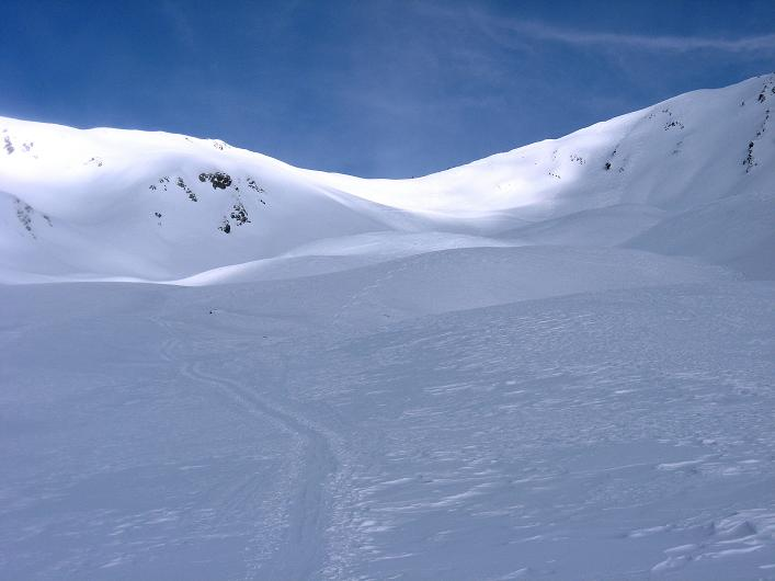 Foto: Andreas Koller / Ski Tour / Rotlahner (2748m) - Paradetour im Gsiesertal  / Nahe scheint das Heimwald Jöchl / 16.02.2009 01:02:30