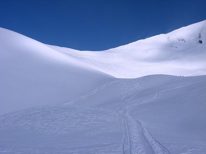Foto: Andreas Koller / Ski Tour / Rotlahner (2748m) - Paradetour im Gsiesertal  / Das Heimwald Jöchl / 16.02.2009 01:01:24