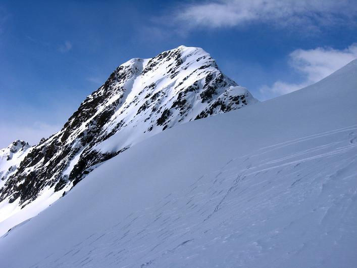 Foto: Andreas Koller / Ski Tour / Rotlahner (2748m) - Paradetour im Gsiesertal  / Die Heimwaldspitze (2755 m) / 16.02.2009 01:00:47