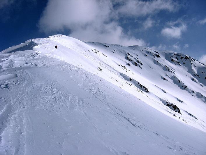 Foto: Andreas Koller / Ski Tour / Rotlahner (2748m) - Paradetour im Gsiesertal  / Der gesamte NW-Grat / 16.02.2009 01:00:18