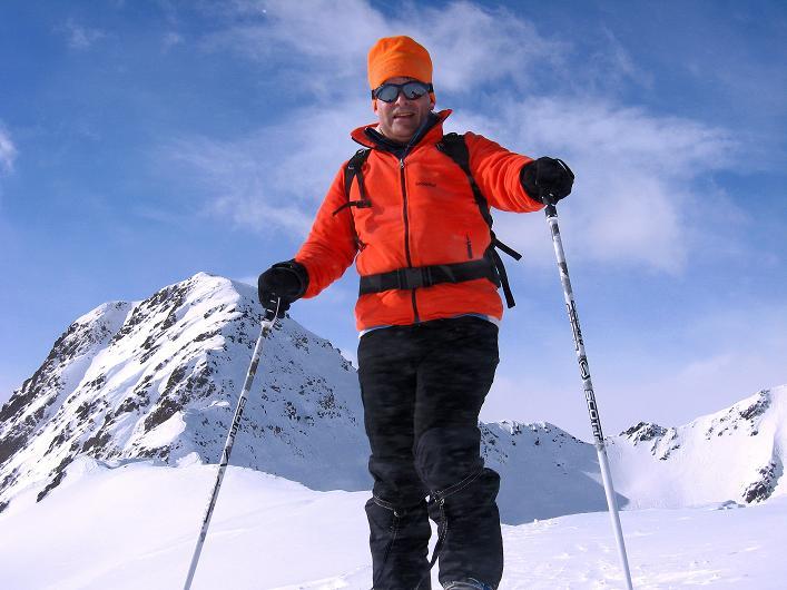 Foto: Andreas Koller / Ski Tour / Rotlahner (2748m) - Paradetour im Gsiesertal  / Am Heimwald Jöchl / 16.02.2009 01:00:05