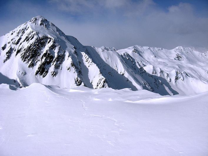 Foto: Andreas Koller / Ski Tour / Rotlahner (2748m) - Paradetour im Gsiesertal  / Riepenspitze (2774 m) / 16.02.2009 00:59:44
