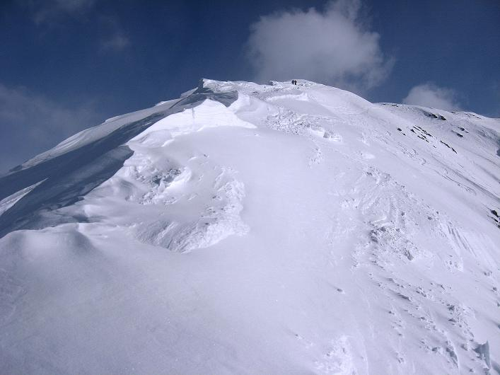 Foto: Andreas Koller / Ski Tour / Rotlahner (2748m) - Paradetour im Gsiesertal  / Der NW-Grat / 16.02.2009 00:59:12