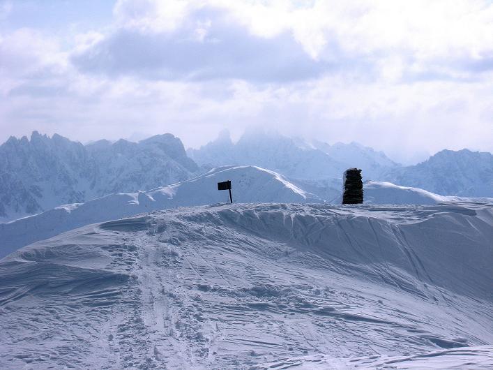 Foto: Andreas Koller / Ski Tour / Rotlahner (2748m) - Paradetour im Gsiesertal  / Der Gipfelbereich / 16.02.2009 00:56:54