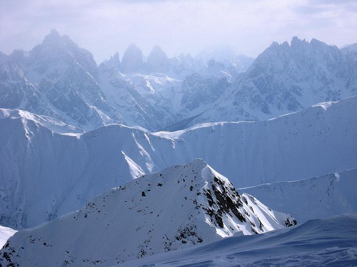 Foto: Andreas Koller / Ski Tour / Rotlahner (2748m) - Paradetour im Gsiesertal  / Sextener Dolomiten / 16.02.2009 00:55:02