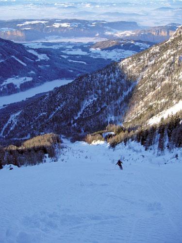Foto: Kurt Schall / Ski Tour / Hochobir 2139 m - Breite Rinne und Gipfelrinne / 27.02.2009 15:54:58