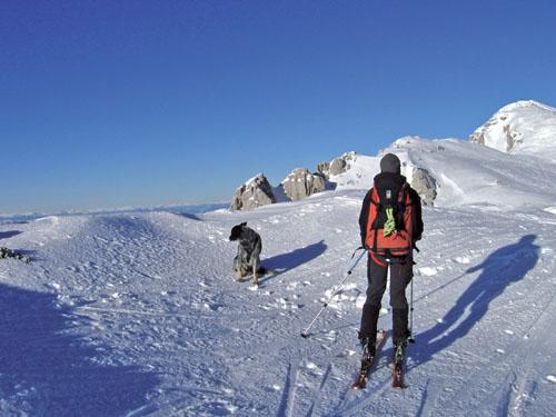 Foto: Kurt Schall / Ski Tour / Hochobir 2139 m - Breite Rinne und Gipfelrinne / 27.02.2009 15:55:06