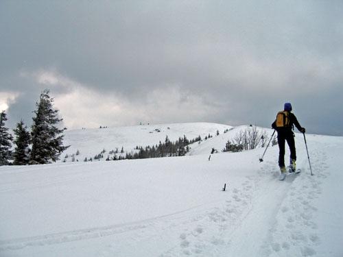 Foto: Kurt Schall / Ski Tour / Großer Speikkofel 2270 m - Sanfte Hänge - schöne Aussicht / 27.02.2009 15:58:22