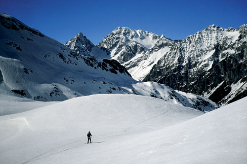 Foto: Kurt Schall / Ski Tour / Innerrodelkunke 2729 m, Hinterbergkofel 2727 m / 26.03.2009 12:56:00