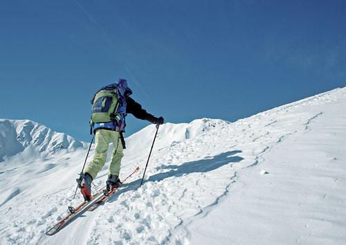 Foto: Kurt Schall / Ski Tour / Pürgleskunke 2500 m / 26.03.2009 13:58:03