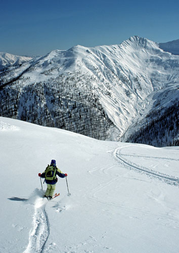 Foto: Kurt Schall / Ski Tour / Pürgleskunke 2500 m / 26.03.2009 13:57:58