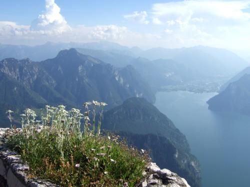 Foto: hofchri / Klettersteig Tour / Traunstein (1691 m) - Die Klettersteig-Quadrilogie / Abstieg zum Naturfreundehaus / 20.02.2009 20:16:45