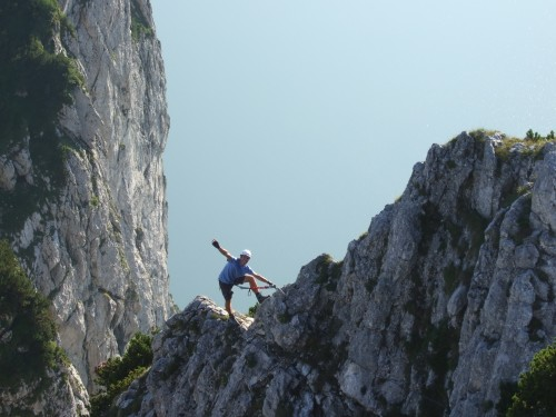 Klettersteig Traunstein : Fotogalerie tourfotos fotos zur klettersteig tour traunstein