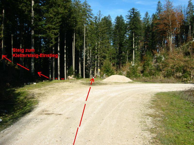 Foto: iron717 / Klettersteig Tour / Predigstuhl (1278 m) - Die Klettersteig-Trilogie / Zustieg zum