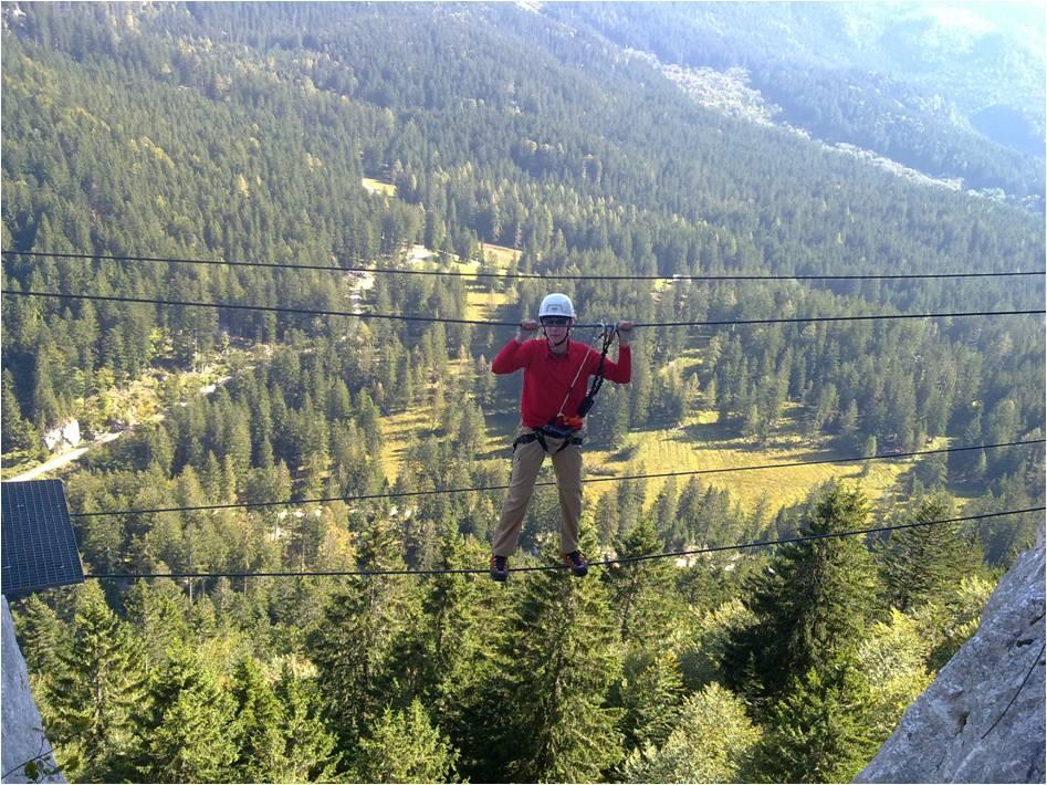 Foto: gumpiand / Klettersteig Tour / Predigstuhl (1278 m) - Die Klettersteig-Trilogie / 10.10.2009 10:07:48
