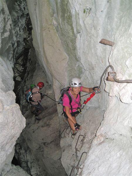 Foto: Heidi Schützinger / Klettersteig Tour / Predigstuhl (1278 m) - Die Klettersteig-Trilogie / Für unsere Freunde und uns einfach perfekt an diesem Tag  / 24.07.2015 18:55:01