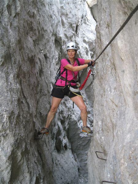 Foto: Heidi Schützinger / Klettersteig Tour / Predigstuhl (1278 m) - Die Klettersteig-Trilogie / Spannender Klettersteig / 24.07.2015 18:54:06