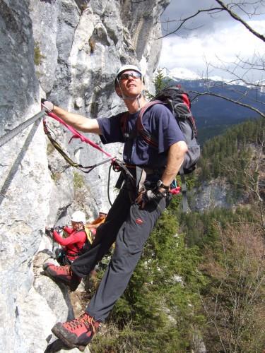 Foto: hofchri / Klettersteig Tour / Predigstuhl (1278 m) - Die Klettersteig-Trilogie / Sonnenstrahlen tanken / 20.02.2009 20:31:31
