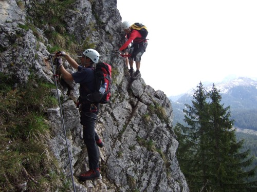 Foto: hofchri / Klettersteig Tour / Predigstuhl (1278 m) - Die Klettersteig-Trilogie / Leadership-Klettersteig / 20.02.2009 20:32:35