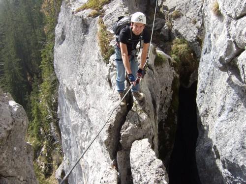 Foto: hofchri / Klettersteig Tour / Predigstuhl (1278 m) - Die Klettersteig-Trilogie / perfekt angelegt / 20.02.2009 20:34:50