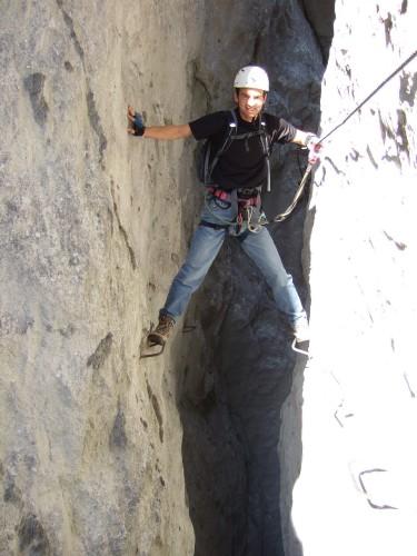 Foto: hofchri / Klettersteig Tour / Predigstuhl (1278 m) - Die Klettersteig-Trilogie / Posing / 20.02.2009 20:29:52