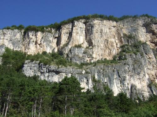 """Foto: hofchri / Klettersteig Tour / Monte Albano (695 m) über Ferrata """"Monte Albano""""  / das Projekt Monte Albano / 20.02.2009 21:27:46"""