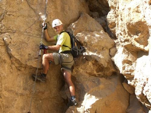 """Foto: hofchri / Klettersteig Tour / Monte Albano (695 m) über Ferrata """"Monte Albano""""  / los gehts / 20.02.2009 21:28:45"""