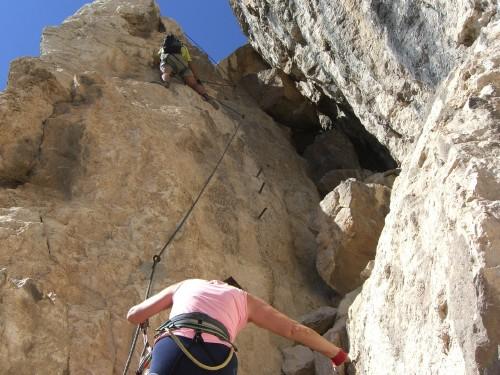 """Foto: hofchri / Klettersteig Tour / Monte Albano (695 m) über Ferrata """"Monte Albano""""  / zickzack-Kurs / 20.02.2009 21:32:50"""