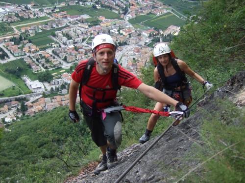 """Foto: hofchri / Klettersteig Tour / Monte Albano (695 m) über Ferrata """"Monte Albano""""  / Abstiegs-Klettersteig (B/C) / 20.02.2009 21:41:38"""