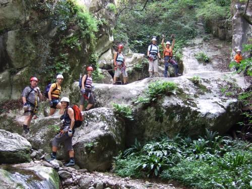 """Foto: hofchri / Klettersteig Tour / Castello di Drena (350 m) über Ferrata """"Rio Sallagoni""""  / sehr abenteuerlich / 20.02.2009 21:09:03"""