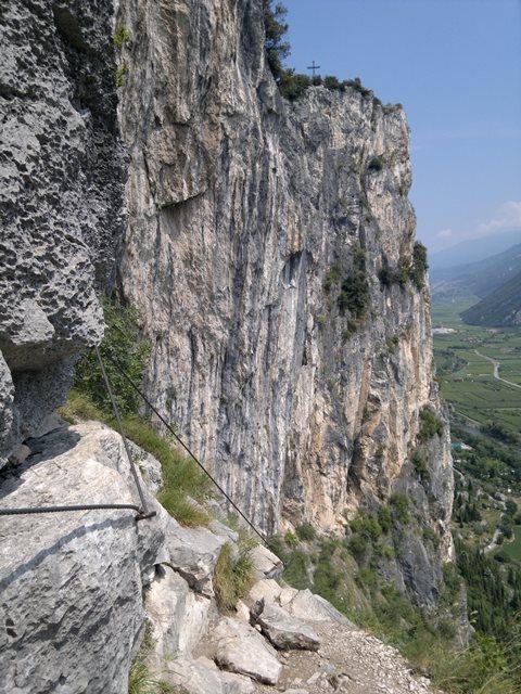 "Foto: goldengel80 / Klettersteig Tour / Colodri (400 m) über Ferrata ""Sentiero del Colodri""  / 29.09.2014 21:09:37"