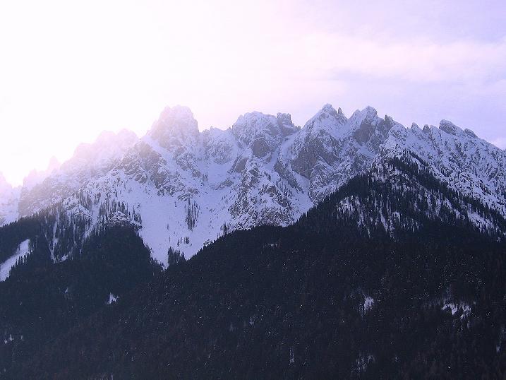 Foto: Andreas Koller / Ski Tour / Genusstour aufs Hochhorn (2623m) / Sextener Dolomiten / 23.02.2009 00:29:14