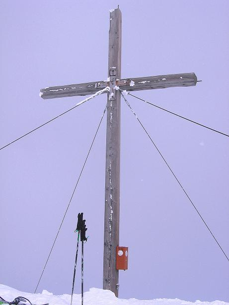 Foto: Andreas Koller / Ski Tour / Genusstour aufs Hochhorn (2623m) / Am Hochhorn / 23.02.2009 00:24:28