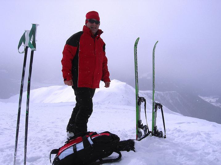 Foto: Andreas Koller / Ski Tour / Genusstour aufs Hochhorn (2623m) / 23.02.2009 00:23:33