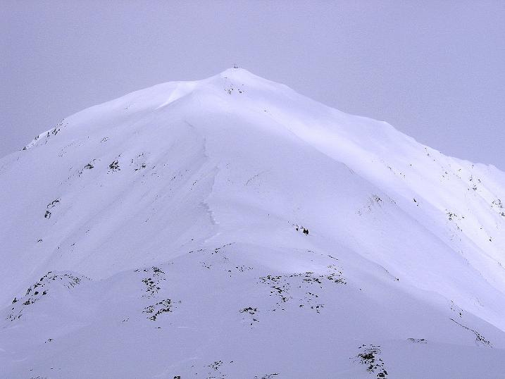 Foto: Andreas Koller / Ski Tour / Genusstour aufs Hochhorn (2623m) / Das Hochhorn / 23.02.2009 00:22:33
