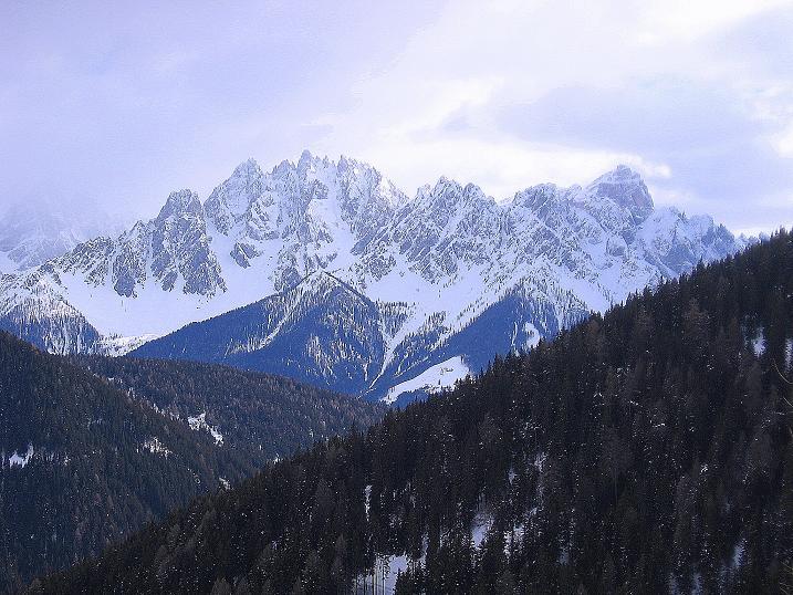 Foto: Andreas Koller / Ski Tour / Genusstour aufs Hochhorn (2623m) / Sextener Dolomiten / 23.02.2009 00:19:31