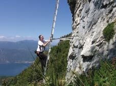 Foto: Kurt Schall / Klettersteig Tour / Via ferrata di Zucco di Sileggio / 26.02.2009 08:31:42