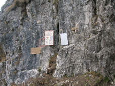 Foto: Kurt Schall / Klettersteig Tour / Via ferrata del Centenario / 26.02.2009 08:34:01