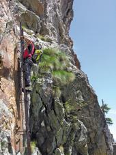Foto: Kurt Schall / Klettersteig Tour / Via ferrata Bivacco Borelli / 26.02.2009 08:35:43
