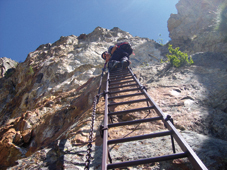 Foto: Kurt Schall / Klettersteig Tour / Via ferrata Bivacco Borelli / 26.02.2009 08:35:57