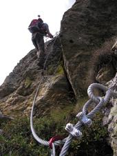 Foto: Kurt Schall / Klettersteig Tour / Via ferrata