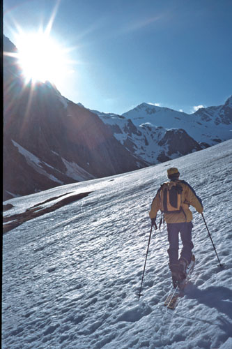 Foto: Kurt Schall / Ski Tour / Ahrner Kopf 3051m / 25.03.2009 12:16:54