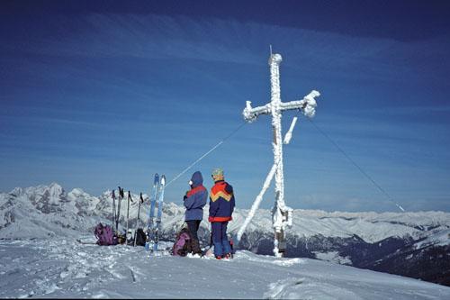 Foto: Kurt Schall / Ski Tour / Zinseler, 2422m, Überschreitung von Egg nach Gospeneid / 26.03.2009 14:26:23
