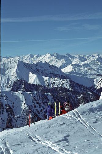 Foto: Kurt Schall / Ski Tour / Zinseler, 2422m, Überschreitung von Egg nach Gospeneid / 26.03.2009 14:26:14