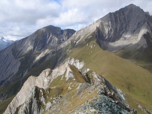 Foto: Manfred Karl / Klettersteigtour / Über den Westgrat Klettersteig auf die Blauspitze / Bretterwand und Kendlspitze / 26.02.2009 21:14:40