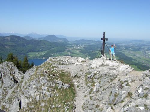 Foto: hofchri / Wander Tour / Thalgauer Schober (1328 m) und Frauenkopf (1287 m) von Wartenfels / Gipfel des Thalgauer Schober (1328 m) / 27.02.2009 18:05:51
