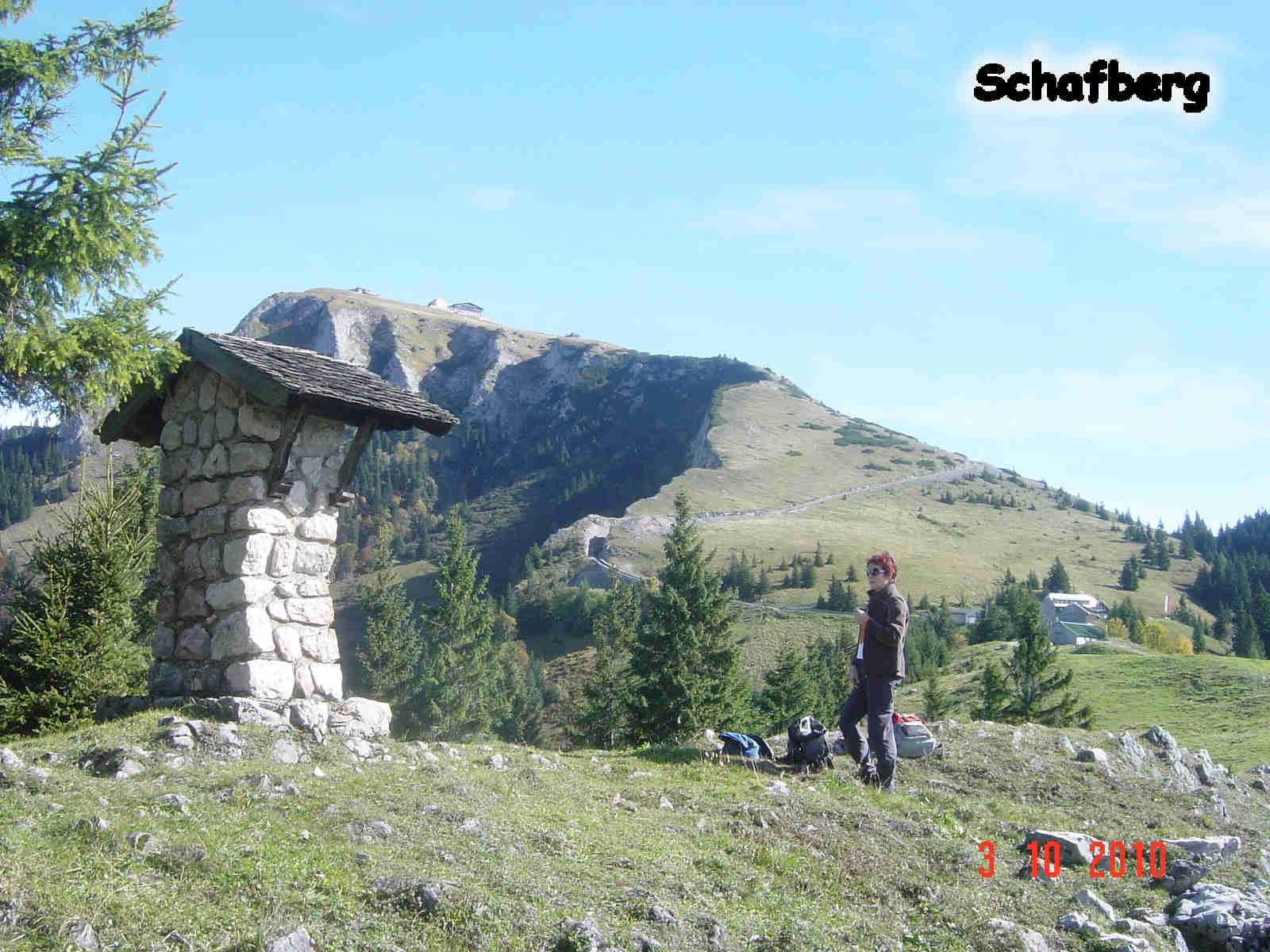 Foto: smirk / Wander Tour / Schafberg (1782 m) von Winkl / Steinmaterl auf der Schafbergalm / 09.11.2010 22:08:15